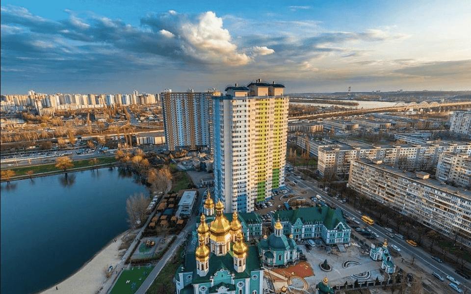 Днепровский район Киева Березняки