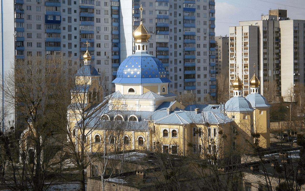Храм Живоносного Источника Святошенский район Киева