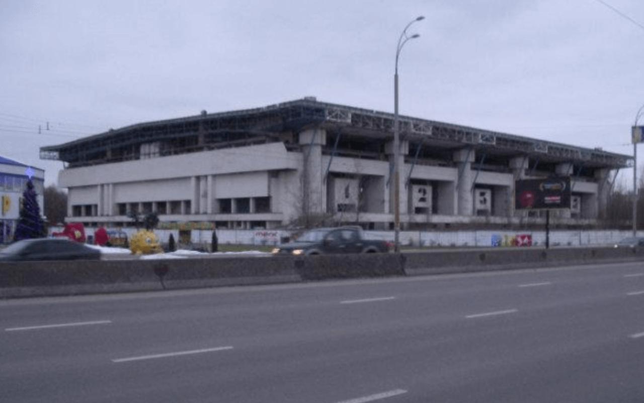 Заброшенный ледовый стадион Киев