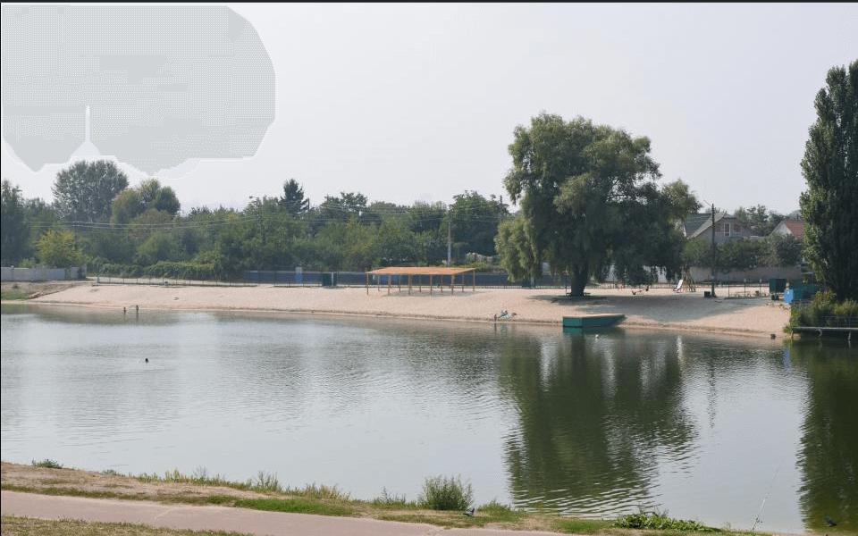 Деснянский район Киева Пляж Радуга