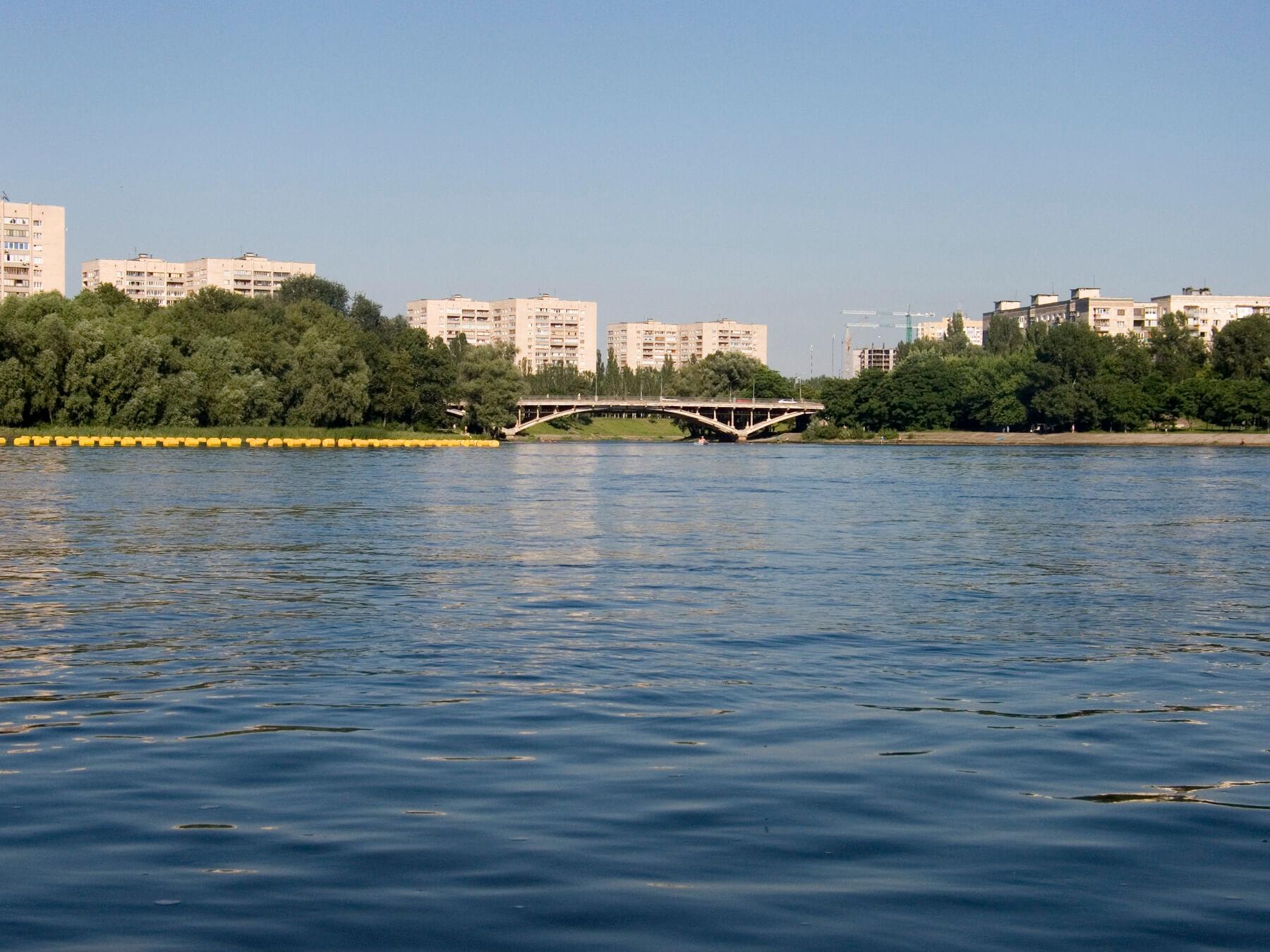 Днепровский район Киева - Русановка