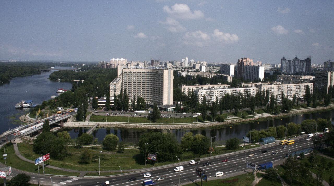 Днепровский район Киева Русановка