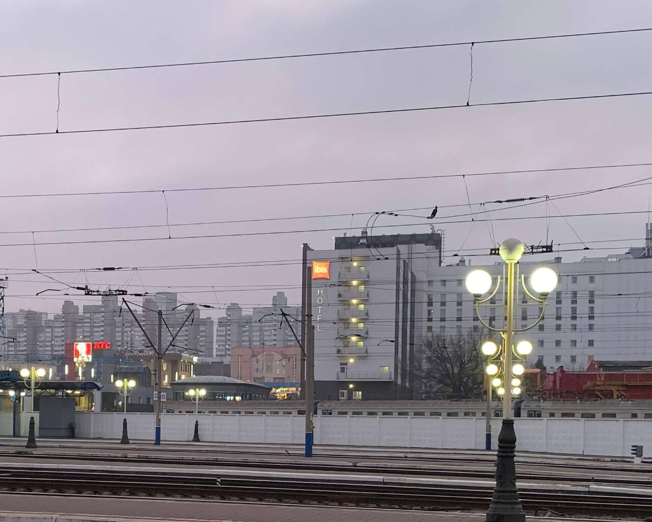 Соломенский район Киева Вид сверху