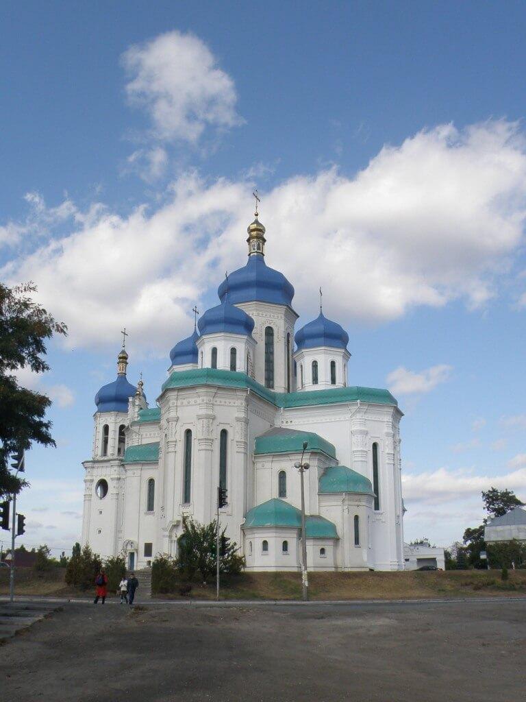 Деснянский район Киева Свято-Троицкий Собор