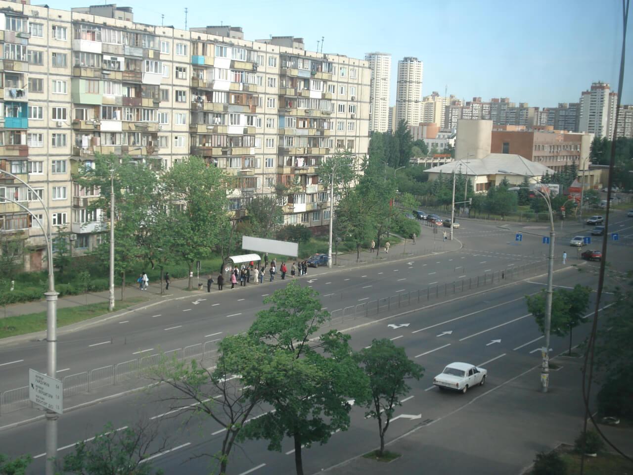 Днепровский район Киева Воскресенка