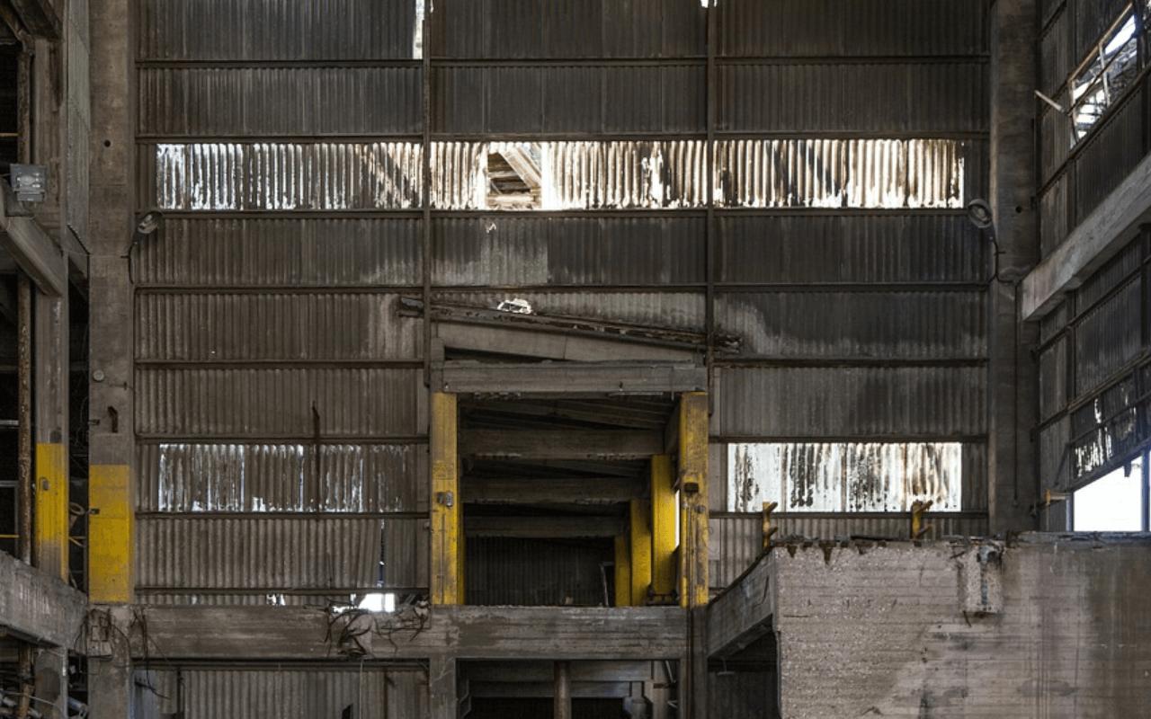 Заброшенный химзавод Киев